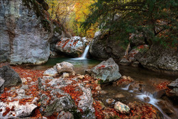 Где то в Большом каньоне Крыма / Крым, октябрь-ноябрь 2015