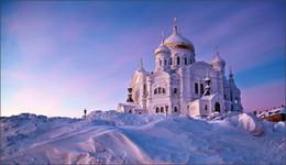 Без названия / Белогорский монастырь, зима, 2015, утро, -35