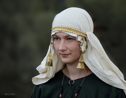 Екатерина / Катя в образе и повседневной одежде женщины 15 века