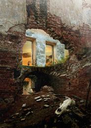 Руины памяти... / Работа сделана из моих фотографий отснятых в разных местах и разное время... Сводилось в PS CC..