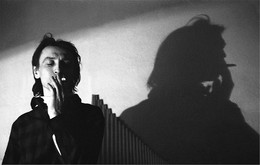 Портрет со свирелью / Феликс Равдоникас, снято в 1970-м в тот же раз http://photocentra.ru/work/559586