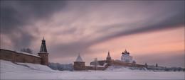Псковский Кром / Псков, январь 2016 г. Псковский Кремль (Кром )