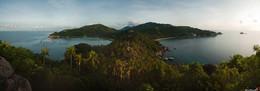 Птичка Ко Тао / Тайланд. Остров Тао на рассвете.