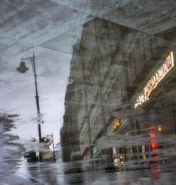Зеркальный мир / Москва. Улица Мясницкая