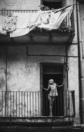 Ветер / про львовские балкончики