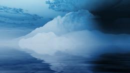 Ледяной горою айсберг... / из тумана выплывает