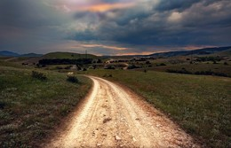 Дорога в никуда / в районе Тепе Оба