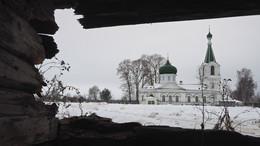 / Село Новоникольское, Ярославская область, Гаврилов-Ямский рвйон, церковь Николая Чудотворца.