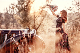 Girl with flowers / Follow Me!!!))) https://www.facebook.com/DzhulIrina?ref=br_rs https://instagram.com/irinadzhul/ https://500px.com/IrinaDzul