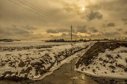 Последние дни зимы / пригород,прогулка