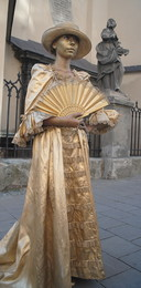 Статуї / Жива статуя
