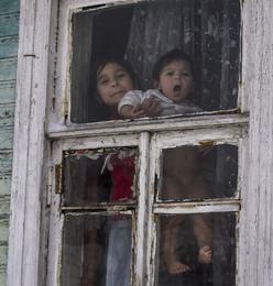 Цыганские дети. /