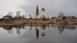 Сельская апрельская / Село Осенево ярославской области