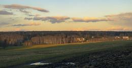 Вечерние горизонты апреля. / ***