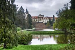 Замок Пругонице / Замок и парк в пригороде Праги