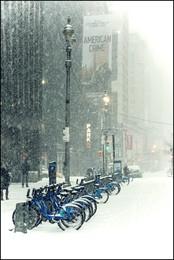 Март в Нью Йорке / весна в большом городе
