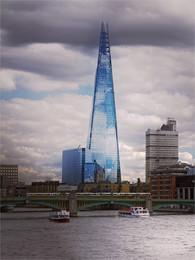 """The Shard / """"Осколок"""" — небоскрёб в Лондоне (310 м, 72 этажа),"""