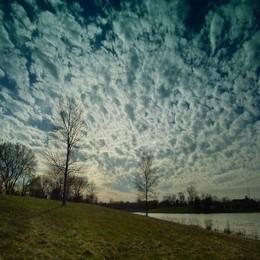 Облака плывут / облака