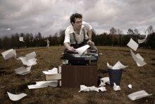 about Writer and his Muse / огромное спасибо mc за невероятное терпение и старательное постукивание по клавишам машинки :)