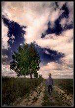...из детства / фото, негатив, 2002