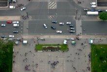 С высоты птичьего полета / Более 300 метров над землей :)