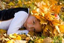 маленькие радости... / Алиса. Осень. Парк.