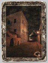 На вулачках старага Вiльна. / На этой улочке, на стене средневековой трехэтажной казармы, что видна в центре я обнаружил табличку, что в подвале этого дома провел последние дни перед казнью Кастусь Калиновский.