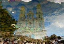 Иллюзия вечного / церковь в г. Глубокое
