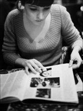 Les gens et les portraits / история с журналом в одном маленьком кафе
