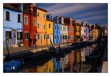 Бурано / Остров в часе ходу от Венеции