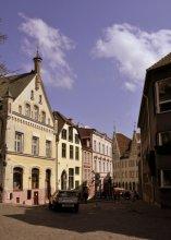 Таллинн улицы старого города / Город ожил