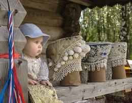 Музей деревянного зодчества Витославлицы. / Внучка Александра
