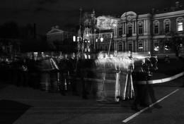 Черно-белое кино / Крестный ход. Суворовское училище. Санкт Петербург.