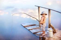 """Рыбалка на облаках / Название, конечно, немного странноватое, но именно так почему-то называют эту фотографию соц сетях. Такие ассоциации, что поделаешь)) Пусть будет """"Рыбалка на облаках""""!"""