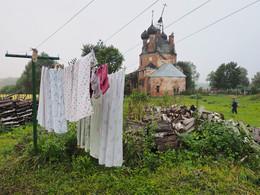 По грибы. / Село Ширинье Ярославской области.