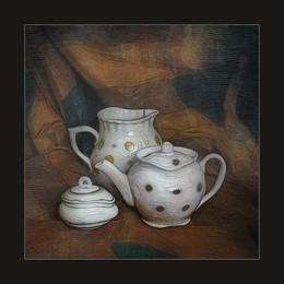 кувшин и чайник / Digital art