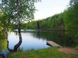 Русская краса / На берегу лесного озера