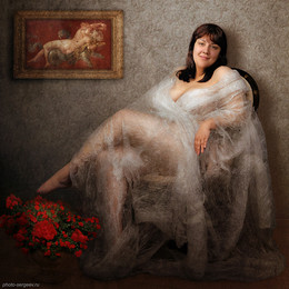 Женский портрет / Модель Александра: https://vk.com/leo23