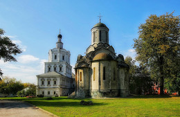 Собор Спаса Нерукотворного. / Спасо-Андроников монастырь.