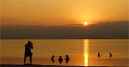 На пленэре / Израиль. Мертвое море.