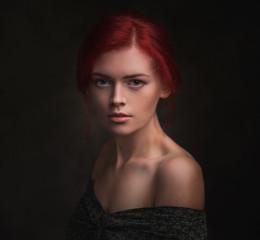 Катя / Этот портрет - новое видение одной из моих предыдущих работ