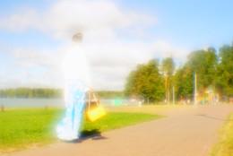 Не лунная дорожка / нелуннаядорожка пятница ;))  В ожидании новых теплых дней)