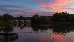 Закат в Царицыно / Царицынский парк