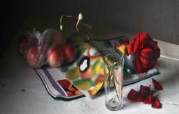 разноцветное / хаос на столе