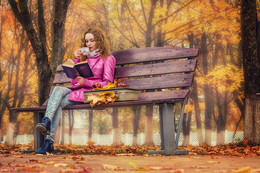Осень — время мечтать и смотреть разноцветные сны. / Осень — время мечтать и смотреть разноцветные сны, запивать холода самым лучшим жасминовым чаем.