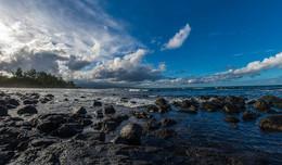 Тучи над городом / Гавайи Хило