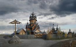 Скит / Донецкая обл, Славинский район, Святогорская Лавра, Скит. 24 октября 2011г.