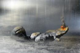 Покорение Титанов... / Работа сделана из моих фотографий отснятых в разных местах и разное время... Сводилось в PS CC..
