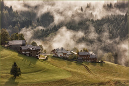 Без названия / когда с гор спускается туман