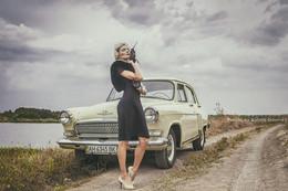 """В стили """"Ретро"""". / модель - Анна Древаль. образ - Людмила Древаль."""